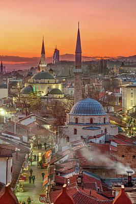 Photograph - Sarajevo Old town by Bez Dan
