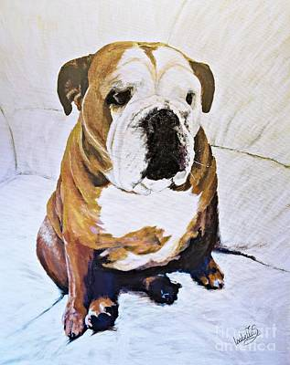 Painting - Sascha by Abbie Shores