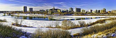 Kim Fearheiley Photography - Saskatoon Winter Panoramic by Scott Prokop