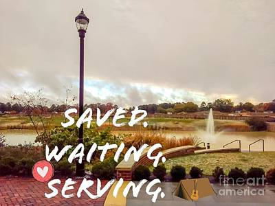 Studio Grafika Zodiac - Saved Waiting Serving by William Meyer