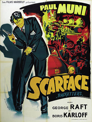 Bringing The Outdoors In - Scarface - 1932 by Stars on Art