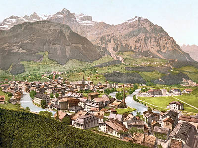 Royalty-Free and Rights-Managed Images - Schwanden, Glarus, Switzerland 1890. by Joe Vella