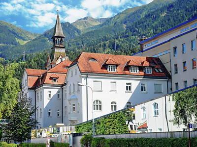 Katharine Hepburn - Schwaz Hospital by Anthony Dezenzio