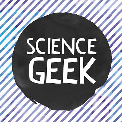 Studio Grafika Vintage Posters - Science Geek by Brandi Fitzgerald
