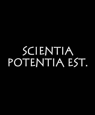 Lovely Lavender - Scientia potentia est by Vidddie Publyshd