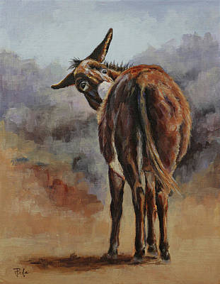 Painting - Scratch That Itch by Joan Frimberger