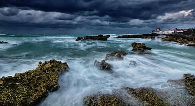 Photograph - Sea Break by Montez Kerr