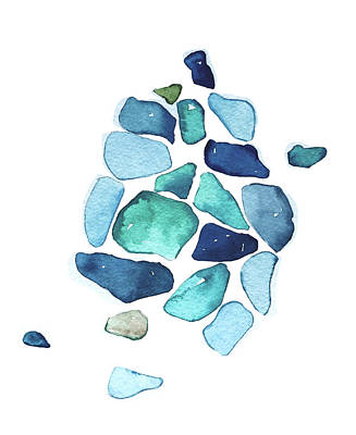 Landscape Photos Chad Dutson - Sea Glass by Luisa Millicent