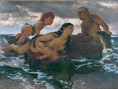 Painting - Sea Idyll by Arnold Boecklin