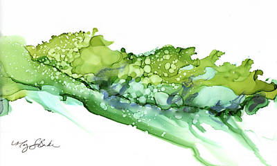 Painting - Sea of Green by Mary Benke