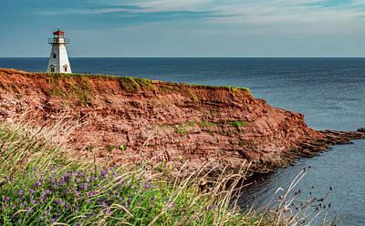 Keith Richards - Sea Sentinel, Prince Edward Island by Marcy Wielfaert