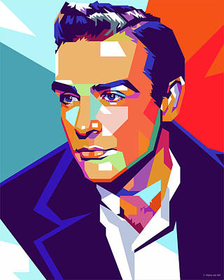 Royalty-Free and Rights-Managed Images - Sean Connery by Stars on Art