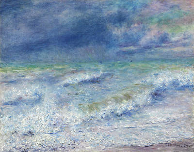 Chris Walter Rock N Roll - Seascape by Pierre-Auguste Renoir