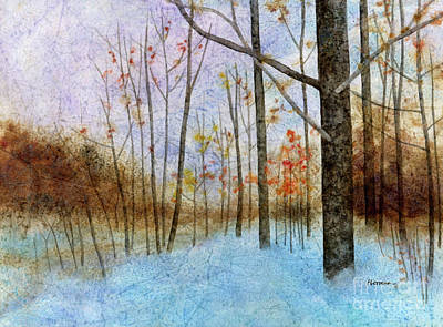 Target Threshold Watercolor - Seasons End by Hailey E Herrera