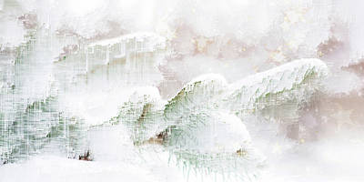 Digital Art - Season's Greetings by Jenny Filipetti