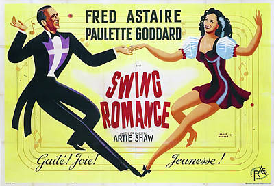 Royalty-Free and Rights-Managed Images - Second Chorus, with Fred Astaire and Paulette Godddard, 1940 by Stars on Art