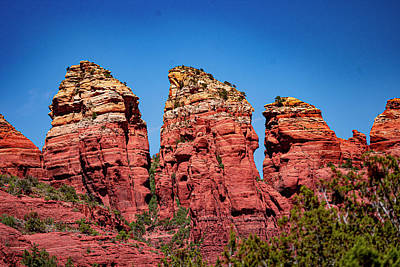 Landscapes Royalty-Free and Rights-Managed Images - Sedona Formations by Jeremy Rickman