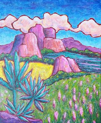 Painting - Sedona Spring by Terry Ann Morris