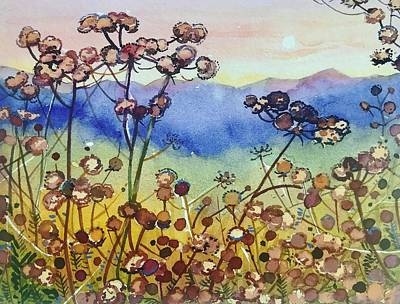 Angels And Cherubs - Seedheads in Paramount Ranch by Luisa Millicent