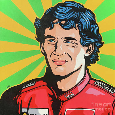 Painting - Senna by James Lee