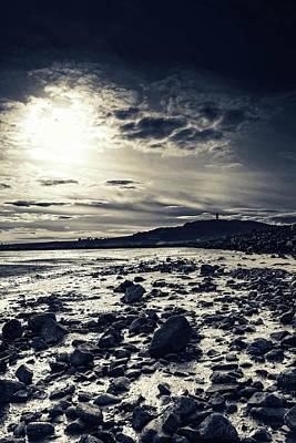 Anchor Down - Sentinel on The Lough  by Martyn Boyd