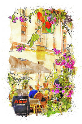 Summer Trends 18 - Seville, the colorful streets of Spain - 23 by AM FineArtPrints