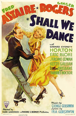 Royalty-Free and Rights-Managed Images - Shall We Dance, 1937 -b by Stars on Art