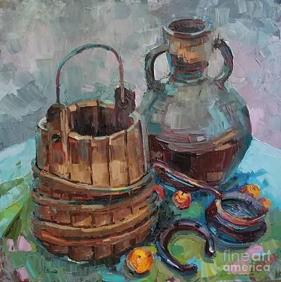 Painting - Shards Of The Past by Nina Silaeva