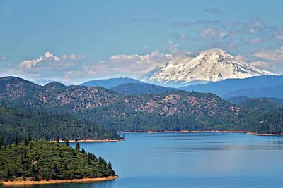 Farmhouse - Shasta Lake by Lana Trussell