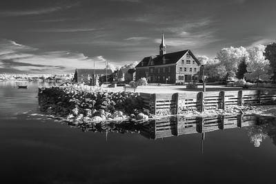 Photo Royalty Free Images - Shelburne harbour infrared Royalty-Free Image by Murray Rudd