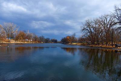 Keith Richards - Shell Rock River In Greene Iowa by Duane Klipping