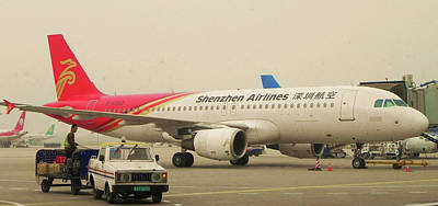 Amy Weiss - Shenzhen Airlines on the ramp by Anthony Dalton