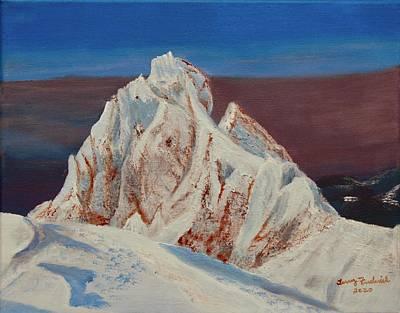 Painting - Sherman Peak by Terry Frederick
