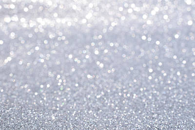 Royalty-Free and Rights-Managed Images - Shiny Of Silver Glitter Abstract Background by Julien