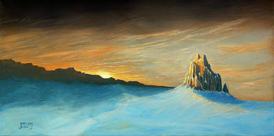 Painting - Ship Rock Sets Sail by Jerry McElroy