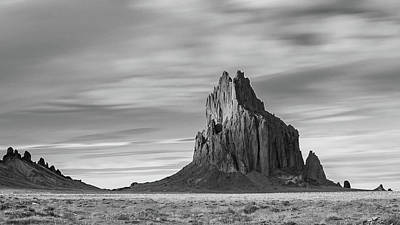 Curated Beach Towels - Shiprock in Motion  by Charles Hesson