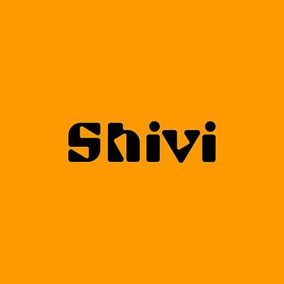 Digital Art - Shivi by TintoDesigns