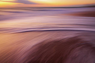 Photograph - Shoreline Beach Abstract by R Scott Duncan