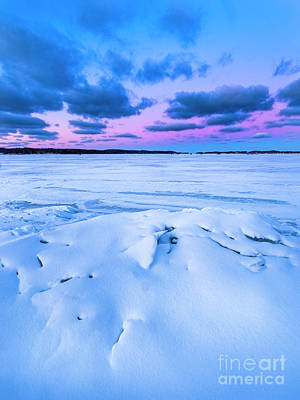Royalty-Free and Rights-Managed Images - Shoreline Ice oin Portage Lake by Twenty Two North Photography