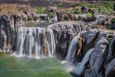 Lucille Ball - Shoshone Falls, Idaho by Jerry Fornarotto