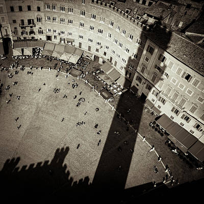 Animals Photos - Siena from Above by Dave Bowman