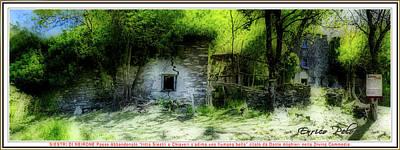 Photograph - SIESTRI DI NEIRONE GHOST VILLAGE Luoghi Abbandonati delle Passeggiate a Levante citato da Dante... by Enrico Pelos