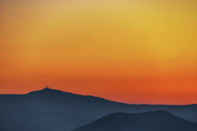 Royalty-Free and Rights-Managed Images - Silhouetted Sunset No 1 by Chris Fletcher