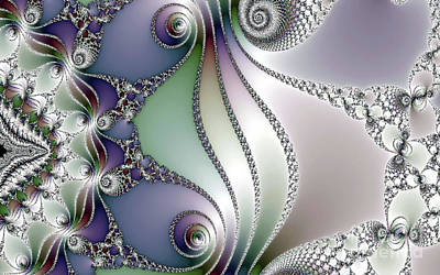Unicorn Dust - Silver and Jewels  by Elaine Manley