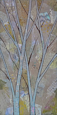 Royalty-Free and Rights-Managed Images - Silver Birch I by Shadia Derbyshire
