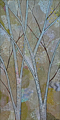 Royalty-Free and Rights-Managed Images - Silver Birch II by Shadia Derbyshire