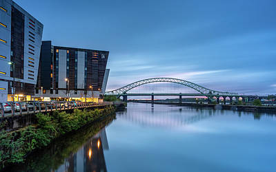 Photograph - Silver Jubilee Bridge by Andrew George Photography