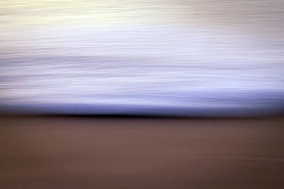 Photograph - Simple Surf Abstract by R Scott Duncan