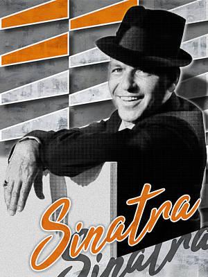 Digital Art - Sinatra - Frank by Mod City Gallery