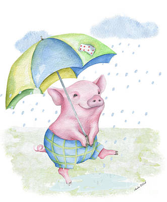 When Life Gives You Lemons - Singing in the Rain by Sandra Clark